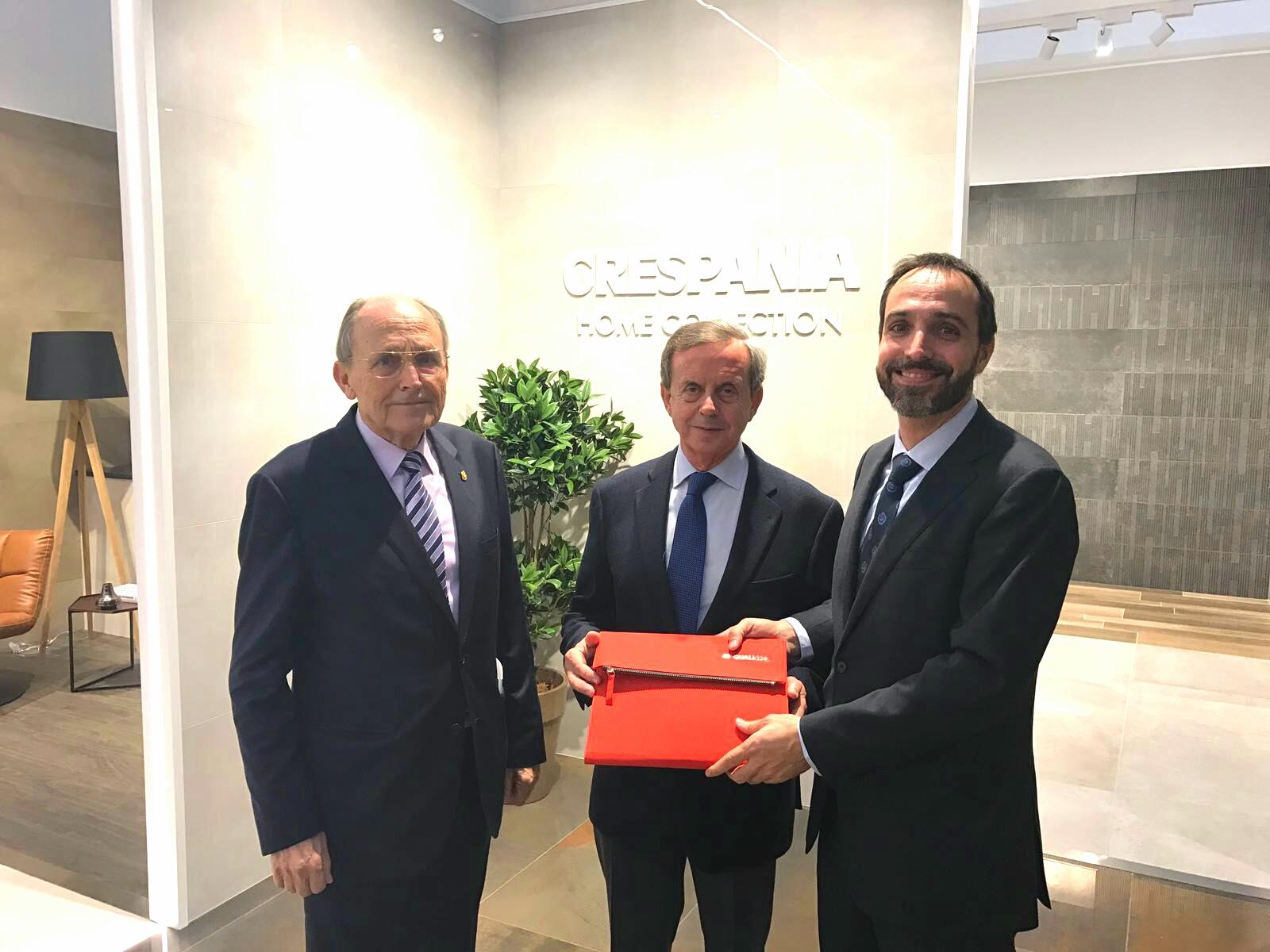 Luis Hernández, Presidente y Consejero Delegado de Grespania confirma su participación en Qualicer 18